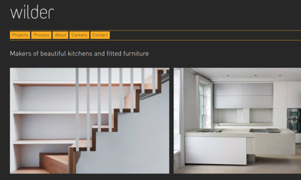 Wilder furniture designers and makers homepage
