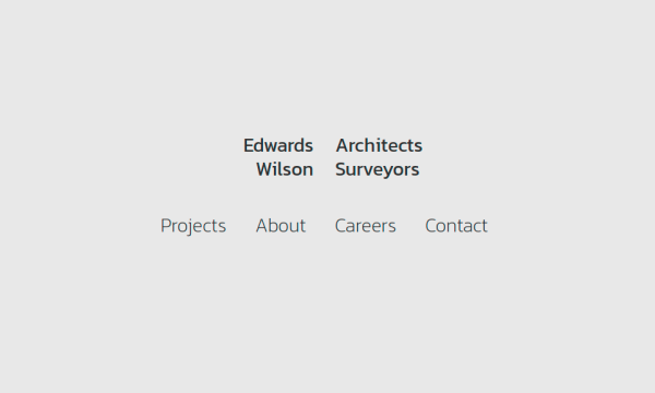 Homepage of Edwards Wilson