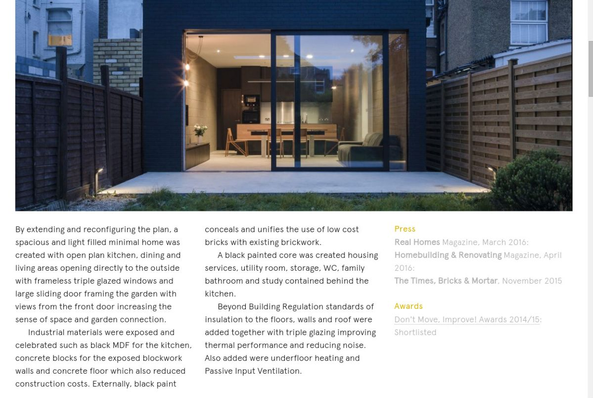 Project details from Mustard Architects' website